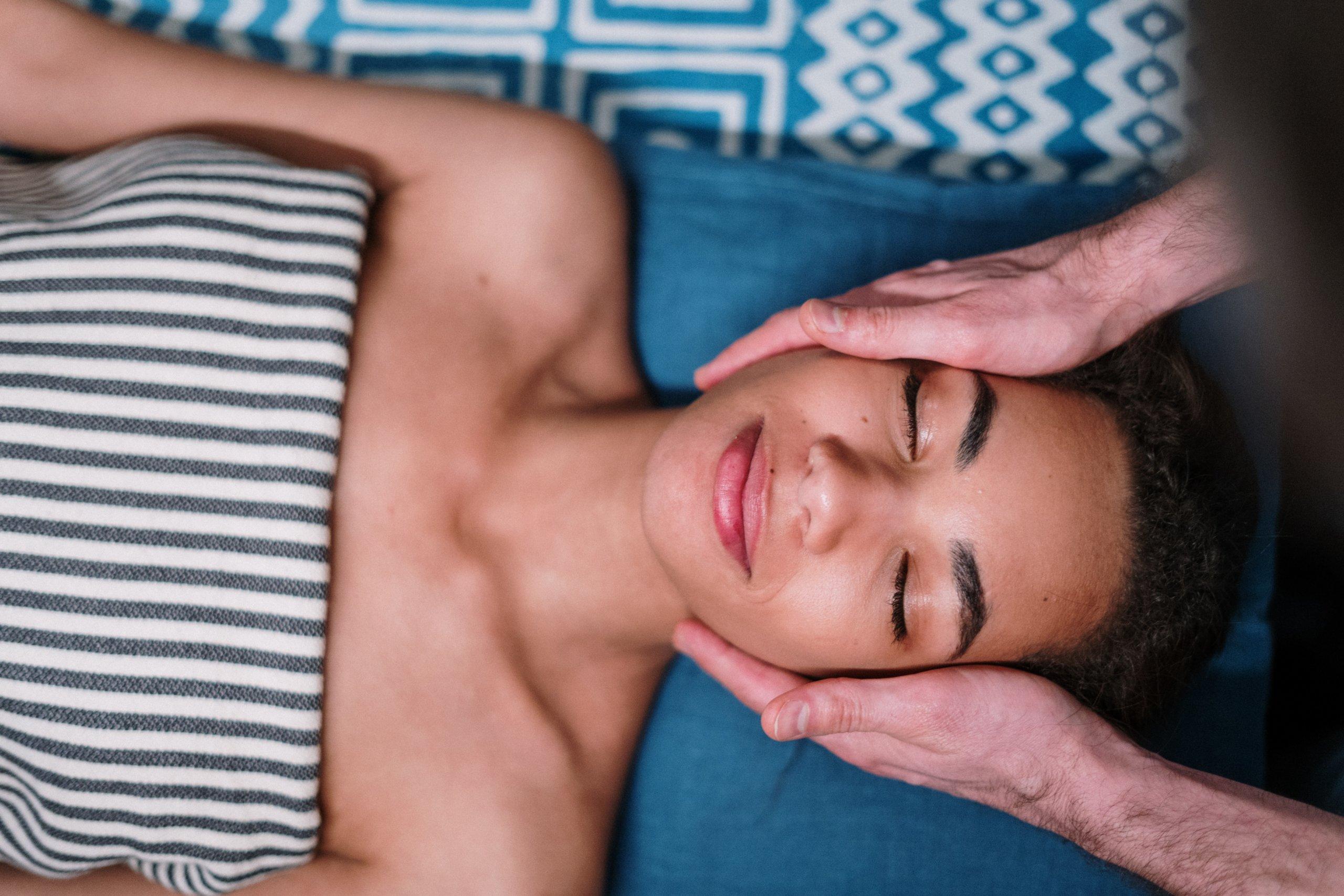 Massage für mehr Energie