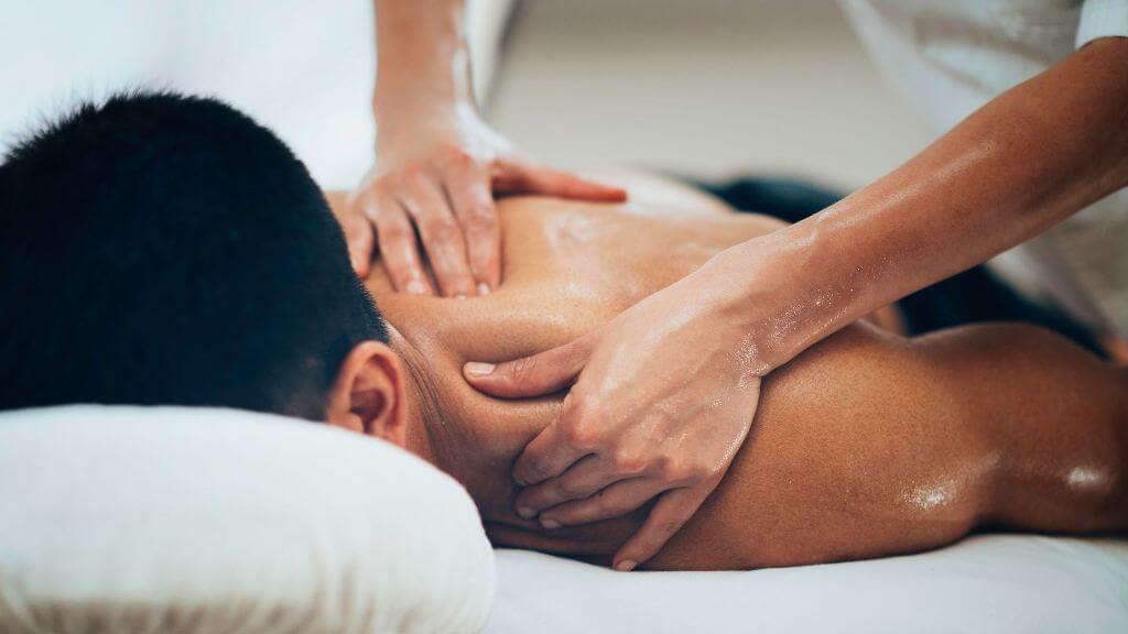 Sportmassage Rückenmassage