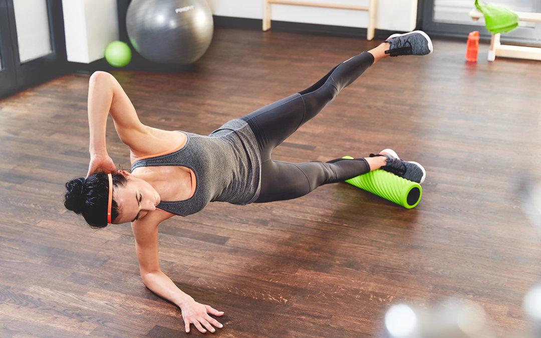 Mit einer Faszien-Massage Schmerzen lösen und die Beweglichkeit verbessern