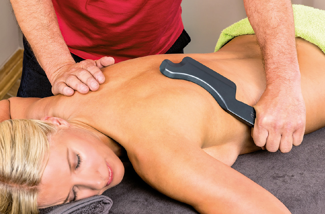 Faszien-Massage